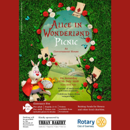 ALICE IN WONDERLAND PICNIC AT GOVERNMENT HOUSE
