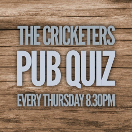 Pub Quiz at The Cricketers