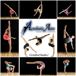 Acro Classes at Repertoire Dance and Performing Arts, Willenhall