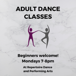 Adult Dance Classes at Repertoire Dance and Performing Arts