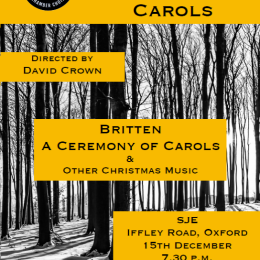 vOx Chamber Choir - A Ceremony of Carols