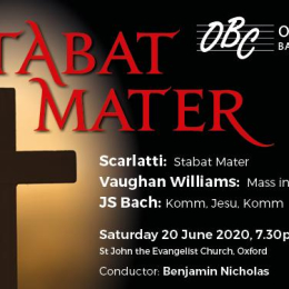 Oxford Bach Choir - Stabat Mater