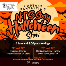 Captain Fantastic's Not So Scary Halloween Theatre Experience