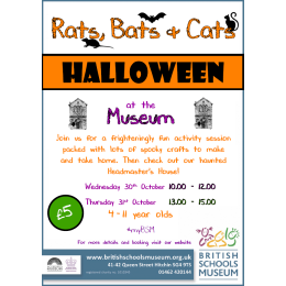 Rats, Bats and Cats Halloween Fun Days