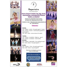 Dance Classes at Repertoire Dance and Performing Arts