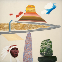 Alan Davie and David Hockney: Early Works