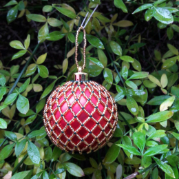 Make a Victorian Beaded Bauble