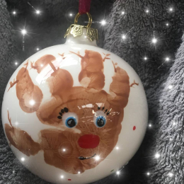 Baby Bauble at Potsy Pamsy Paint a Pot Studio