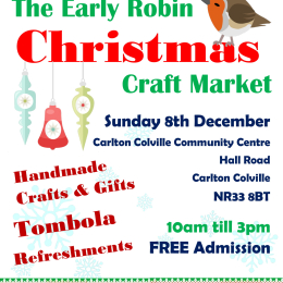Early Robin Christmas Craft Market
