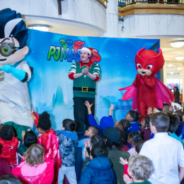 HERO TRAINING WITH PJ MASKS AT CENTRALE SHOPPING CENTRE