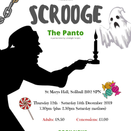 Scrooge the Panto