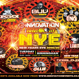 New Years Eve 2019-2020 | Innovation X Raveology