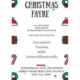 Christmas Fair at Abbey Road Baptist Church
