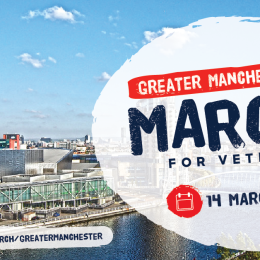 March for Veterans Greater Manchester