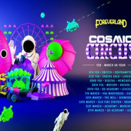 Foreverland Manchester Cosmic Circus Rave