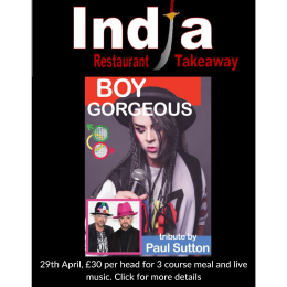 Live at India Presents... Boy George Tribute