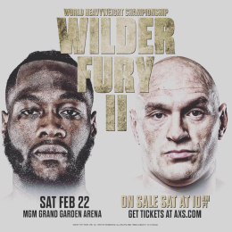 WILDER V FURY 2 LIVE at BAR SPORT Cannock