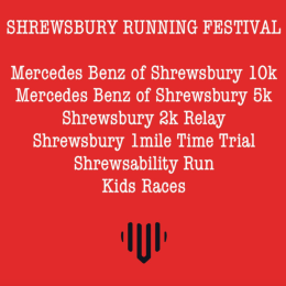 The Mercedes-Benz of Shrewsbury 10k running festival