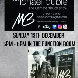 Michael Buble Solo Tribute LIVE at the Bridgtown Social Club IT'S FREE!