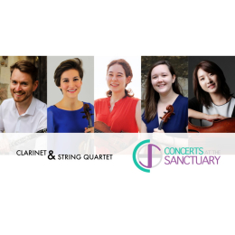 Concerts at The Sanctuary in #Ewell Spring Concert - Brahms Clarinet Quintet