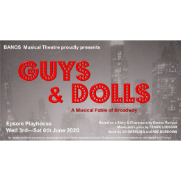 Guys & Dolls with #Banstead and Nork Operatic #BANOS @EpsomPlayhouse