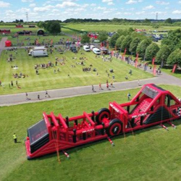 Inflatable 5k Obstacle Course Run - Hickstead, Haywards Heath