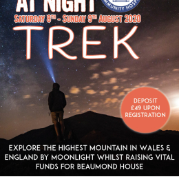 Snowdon at Night Trek for Beaumond House