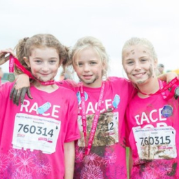Cancer Research UK Race for Life - Manchester Pretty Muddy Kids 2020