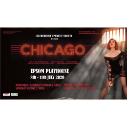 POSSIBLE DATE CHANGE CHICAGO with #Leatherhead Operatic at @EpsomPlayhouse