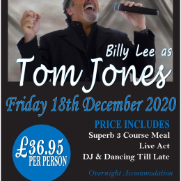 Tom Jones Tribute Night
