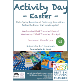 EASTER ACTIVITY DAYS