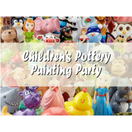 Childrens Party: Pottery Painting (Acrylics)