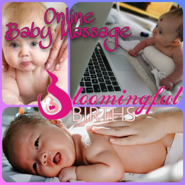 Online Baby Massage with Bloomingful Births