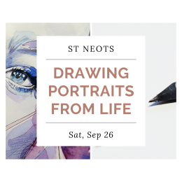 Drawing Portraits From Life - St Neots