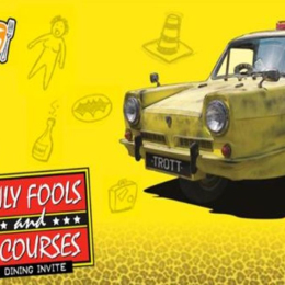 Only Fools and 3 Courses - Mercure Maidstone Great Danes Hotel 11th October @ 1pm