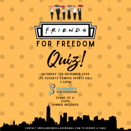 F.R.I.E.N.D.S. for Freedom Quiz