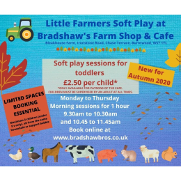 Little Farmers Soft Play at Bradshaw's Farm Shop & Café