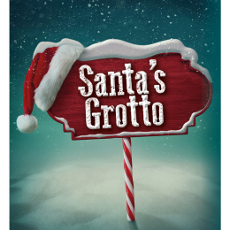 Santa's Grotto at the Lichfield Garrick