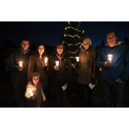 Outside Lantern Service - Lichfield Cathedral