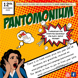 It's PANTOMONIUM with the EWELL GROVE PLAYERS