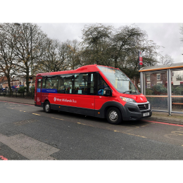 NEW Bus Routes at Walsall Community Transport
