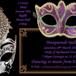 Sidney's presents a Masquerade Ball