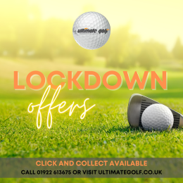 Limited Time Lockdown Offers available at Ultimate Golf