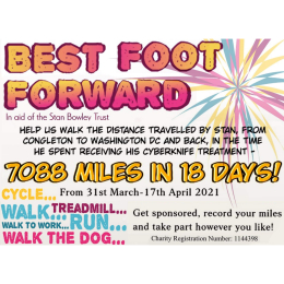 Best Foot Forward in aid of the Stan Bowley Trust