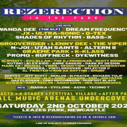 Rezerection In The Park 2021