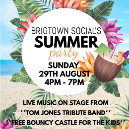 Bridgtown Social's Summer Party with Tom Jones Tribute!