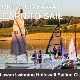 Spring Giveaway: Learn to Sail Course for adult or child