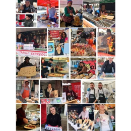 The #TasteOfTheWorld  Market in #Epsom FRIDAY MARKET