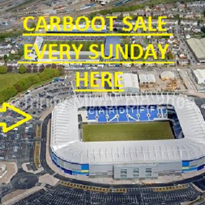 Cardiff City - Carboot Sale