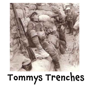 Tommys Trenches – at Bourne Hall Museum Kids Club @epsomewellbc #horriblehistory @kidsinmuseums